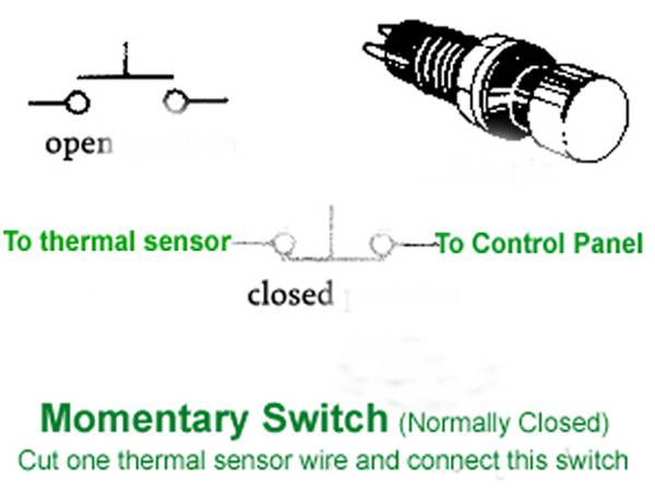 homeroasters org discussion forum enhancing my hottop of  1 thermal sensor cable jpg 2 momentary switch diagram jpg