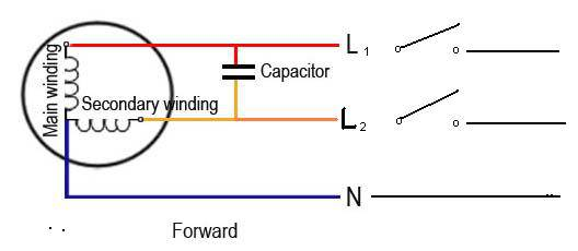single phase capacitor start capacitor run motor wiring diagram wiring diagram 220v capacitor start motor jodebal com on single phase capacitor start capacitor run motor
